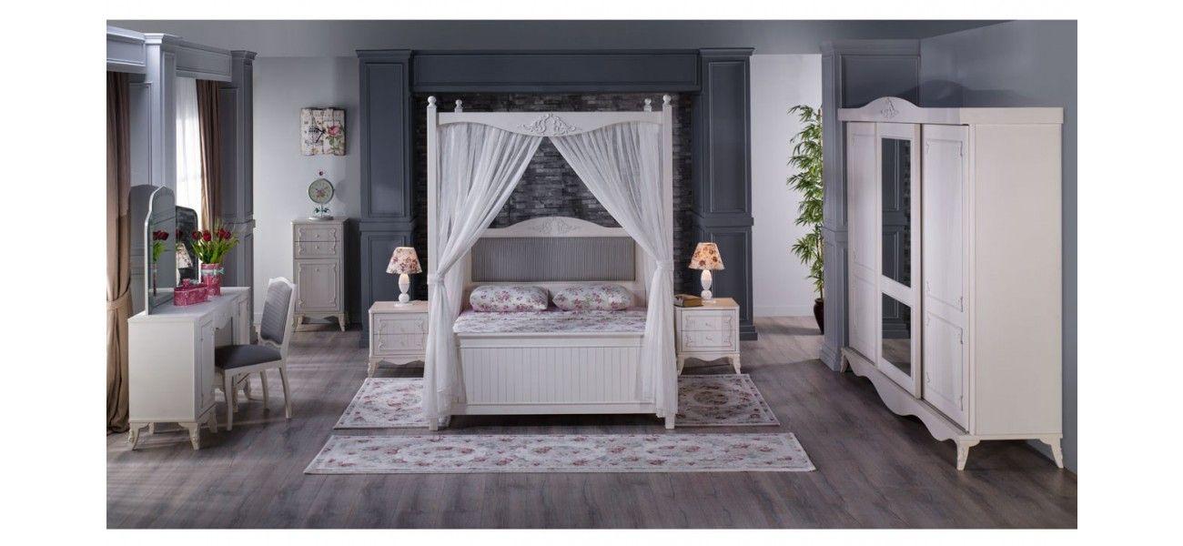 Romance Bedroom 5 Pc Set   Bedrooms   Istikbal Furniture