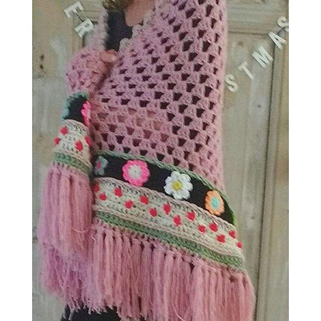 Irish crochet &: Adinda Zoutman   sjaal / stola /poncho haken ...