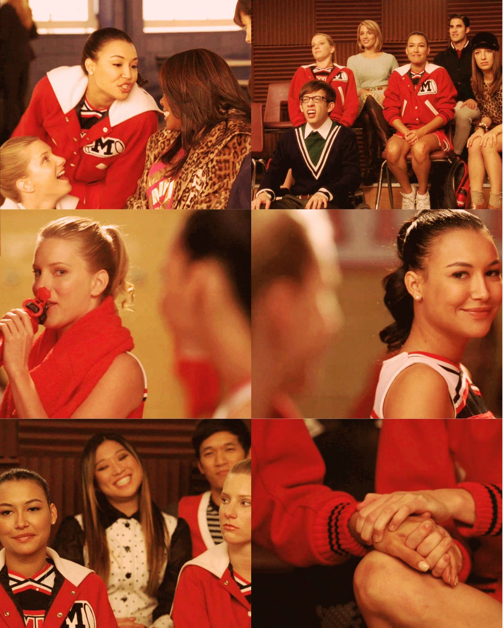 brittana in every episode yes/no Glee quotes, Glee