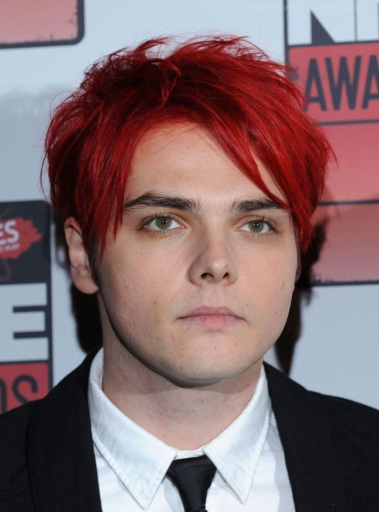 Gerard Way Short Red Hair Gerard Way Gerard Way Red Hair My Chemical Romance