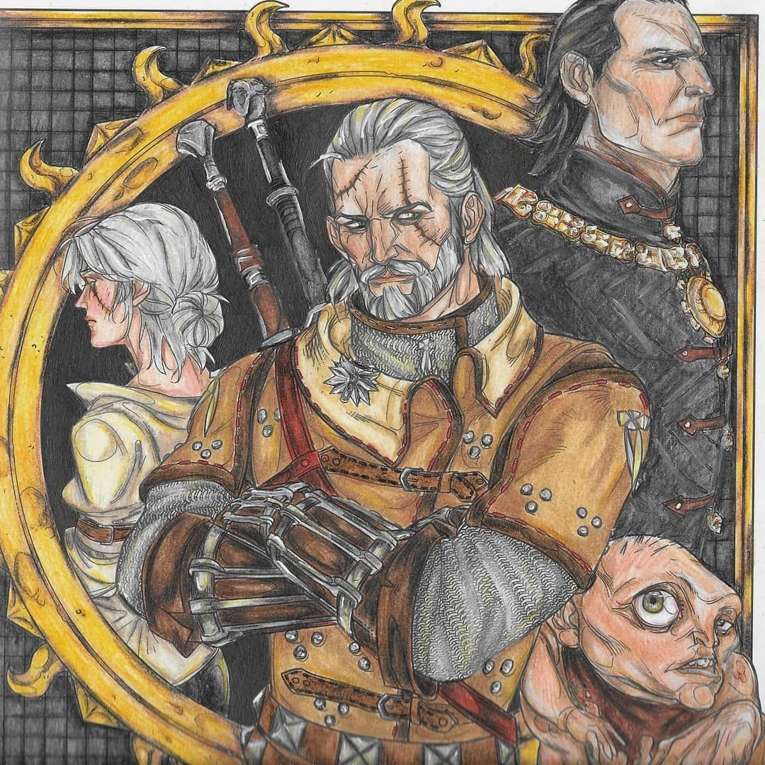 Witcher 3 Coloring Book - Coloring Paper