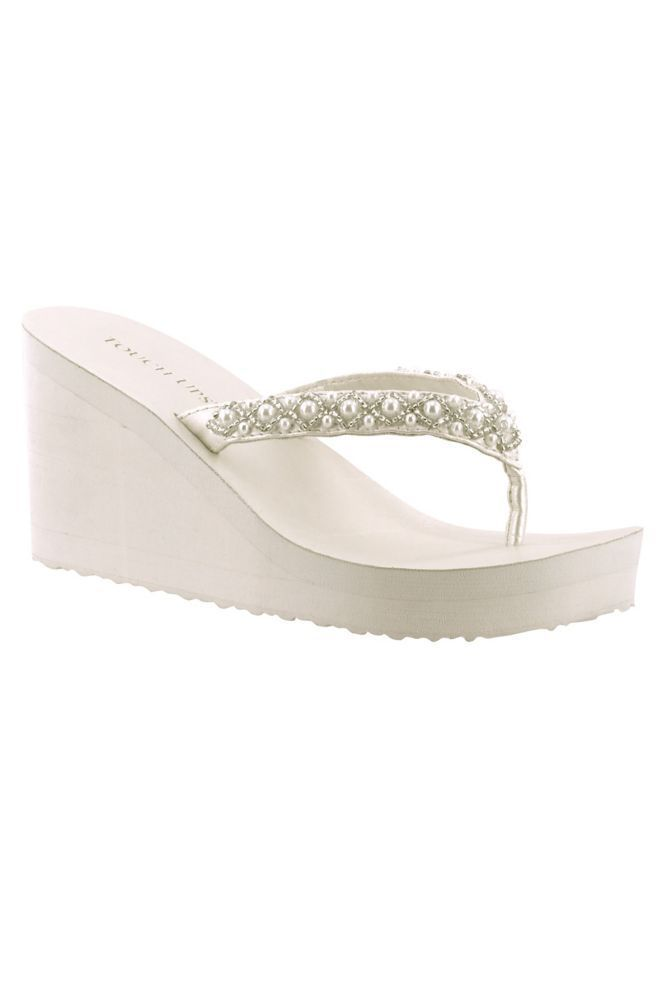 25a754128df88d Touch Ups Shelly Wedge Sandal - Diamond White