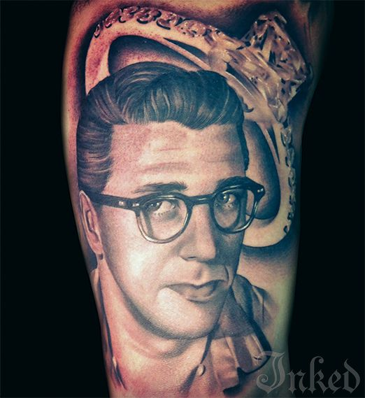 Tatuajes Retrato portraitsteve wiebe inkedmagazine #tattoo #art #realism