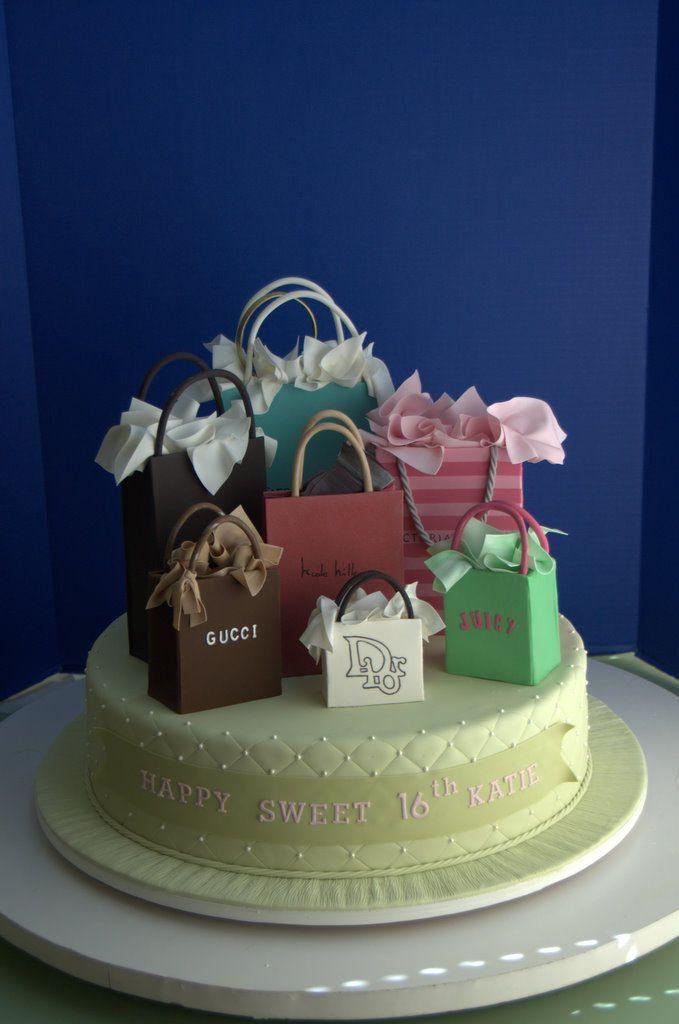A Fashionista S Birthday Cake Cakes Birthday Cake