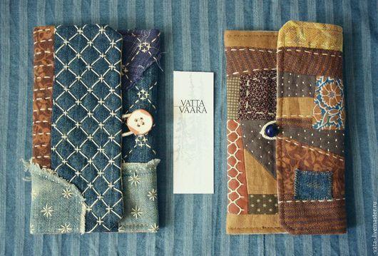 Купить Кошелёк Ручная сумка Сумка - орнамент, синий, кошелек, сумка джинсовая