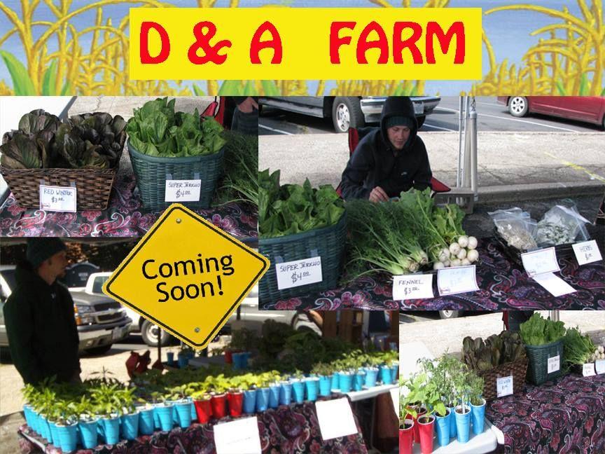 D a farms various veggie produce farm local produce