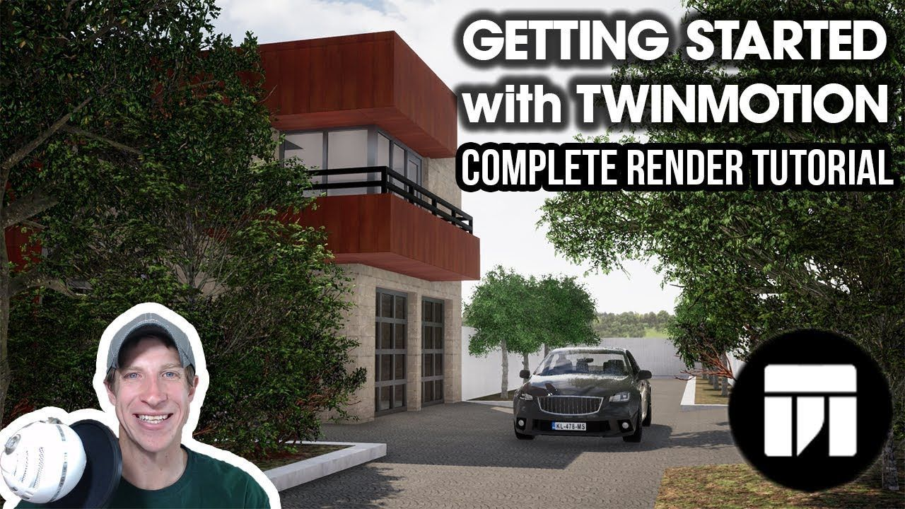 Check out a complete, easy to follow rendering workflow for