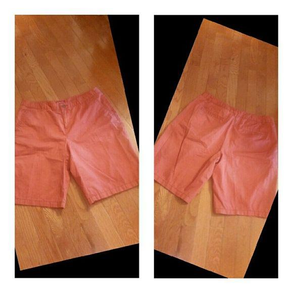 ❌ FINAL PRICE ❌ Merona Shorts Size 12 Gorgeous Rust color shorts in size 12 by Merona Merona Shorts