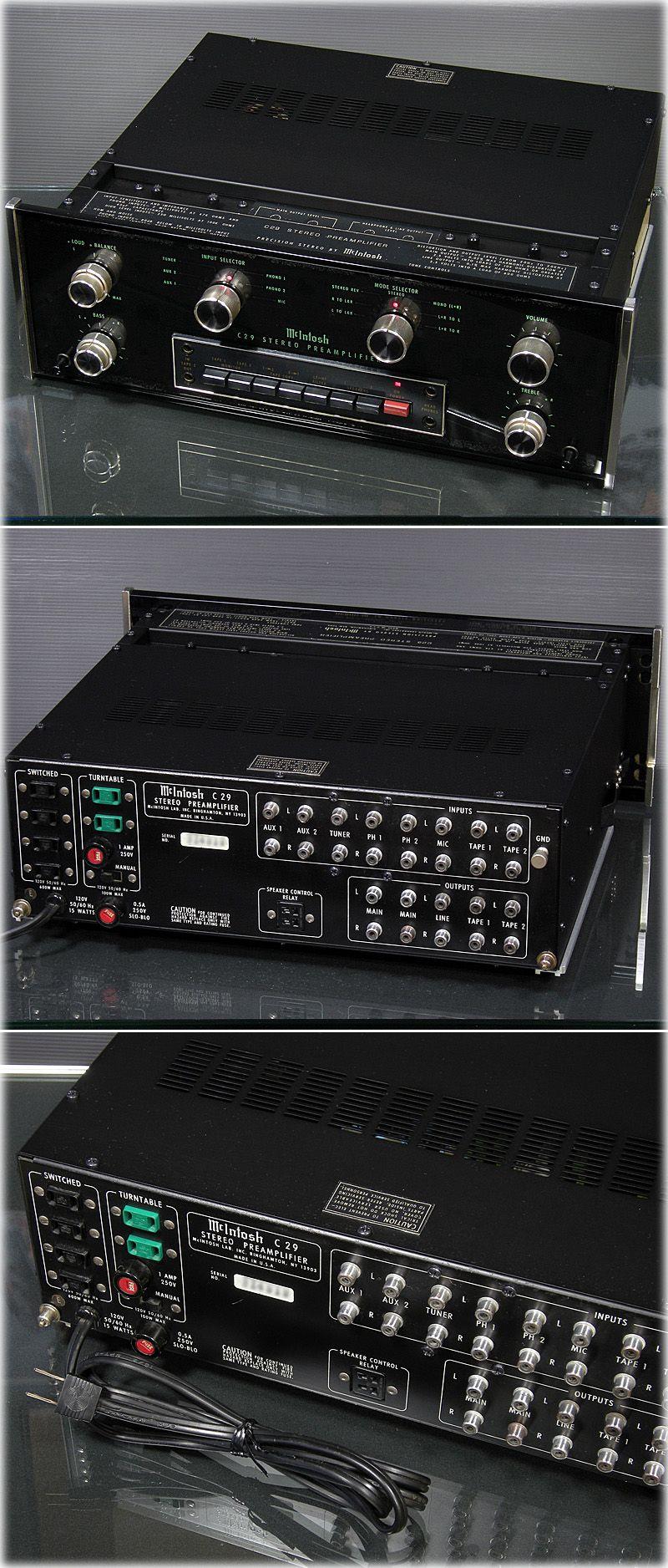 mcintosh c29 amplifier audiolovejp pinterest rh pinterest com
