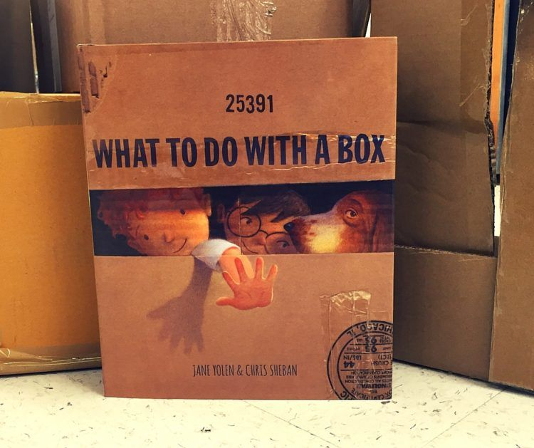 """Little Kids' Book Club #17:""""What To Do With A Box"""""""