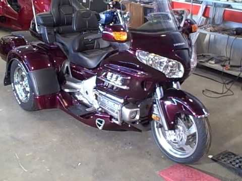 Sold New Honda Goldwing 1800 Trikes Irs Suspensions Available Youtube Custom Trikes Goldwing Honda Valkyrie
