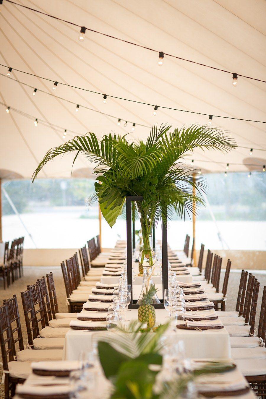 Real Wedding Liz Kyle Beach Tent Wedding