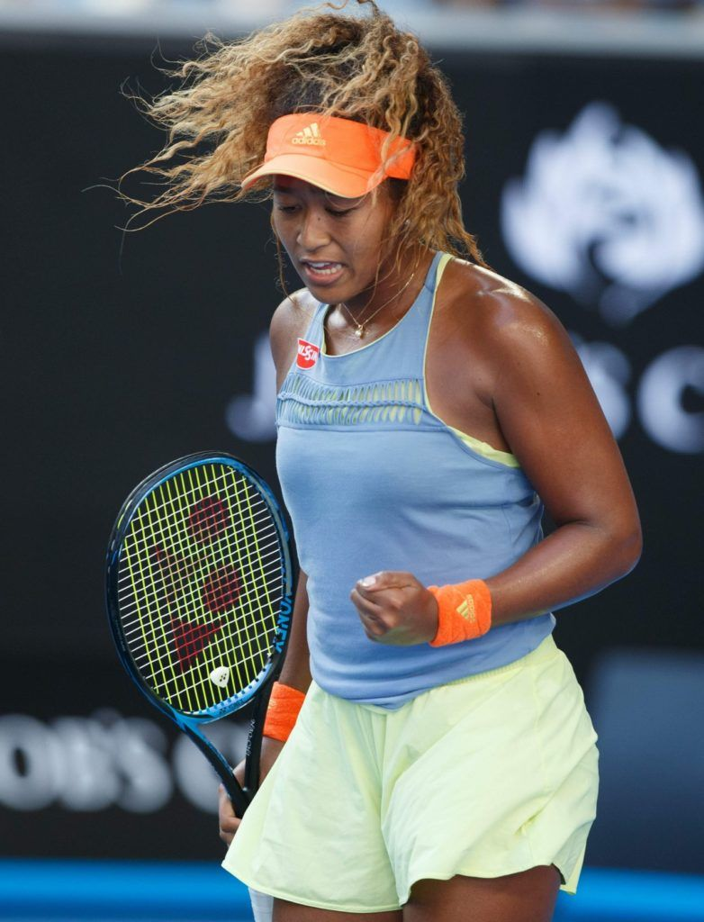 Naomi Osaka Naomiosaka Australian Open Http Ift Tt 2fnr1ge Tennis Players Female Muscular Women Gym Outfit