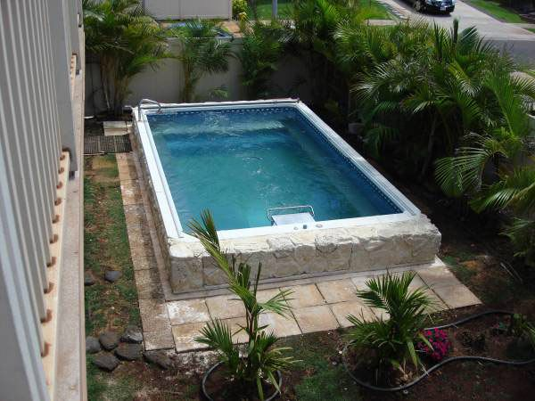 An Endless Pool Can Fit In Virtually Any Space Swim At Home Even In A Small Backyard Www Endle Endless Pool Endless Pool Backyard Small Backyard Landscaping