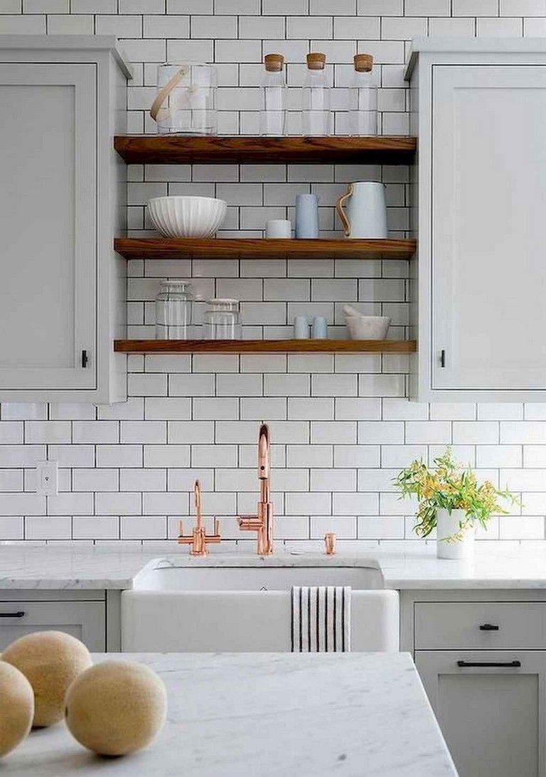 - 75+ LOVELY KITCHEN BACKSPLASH DECOR IDEAS Farmhouse Kitchen