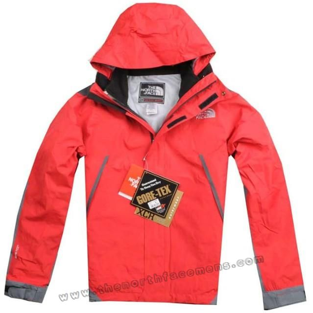 Cold Men The North Face Gore Tex XCR Jacket Red Outlet TNF136 Outlet