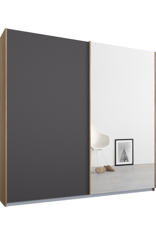 Made Kleiderschrank Grau Classic Interior Sliding Wardrobe