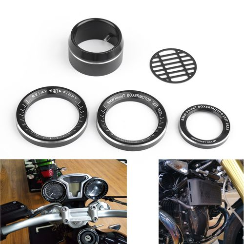Tachometer Speedometer Ring Cover Air Intake Trim BMW