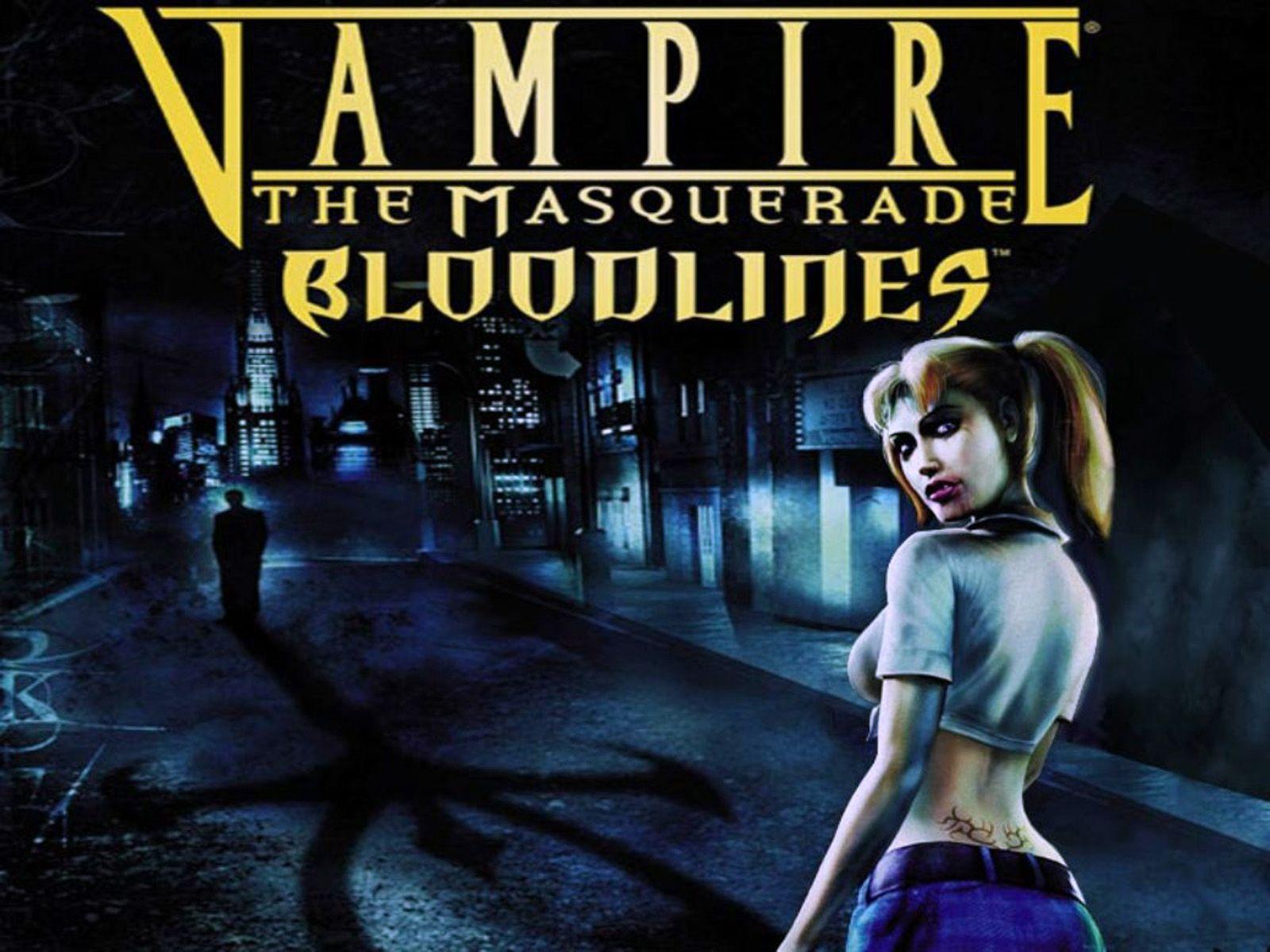 Vampire The Masquerade Bloodlines Cover Wallpaper Jpg Vampire