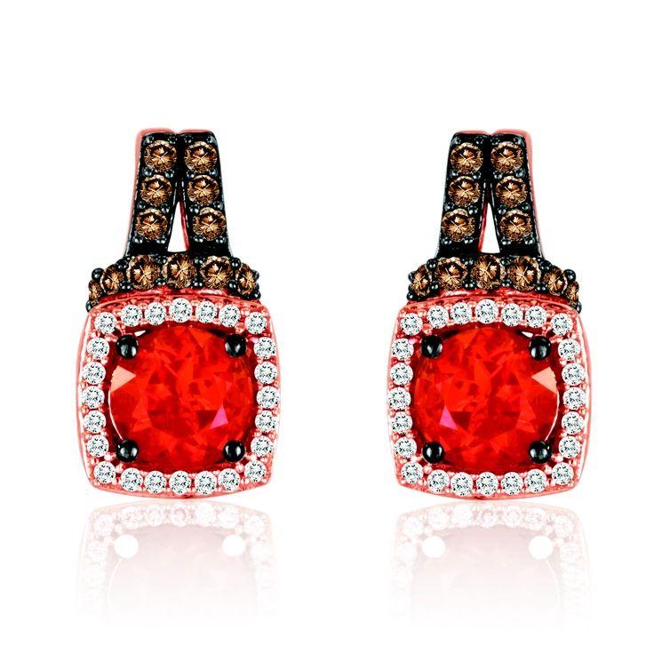 Le Vian Fire Opal Earrings