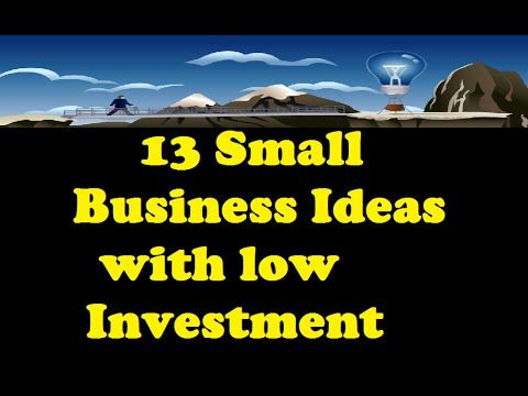 Small Business Ideas With Small Capital Http