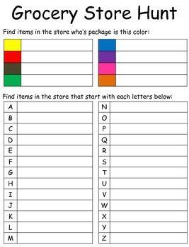 Cbi Community Based Instruction Worksheets 1531997 Teaching