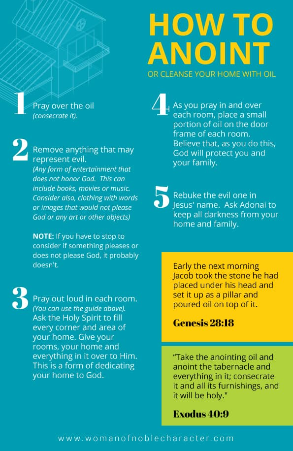 Complete guide to praying over your home suggested prayer