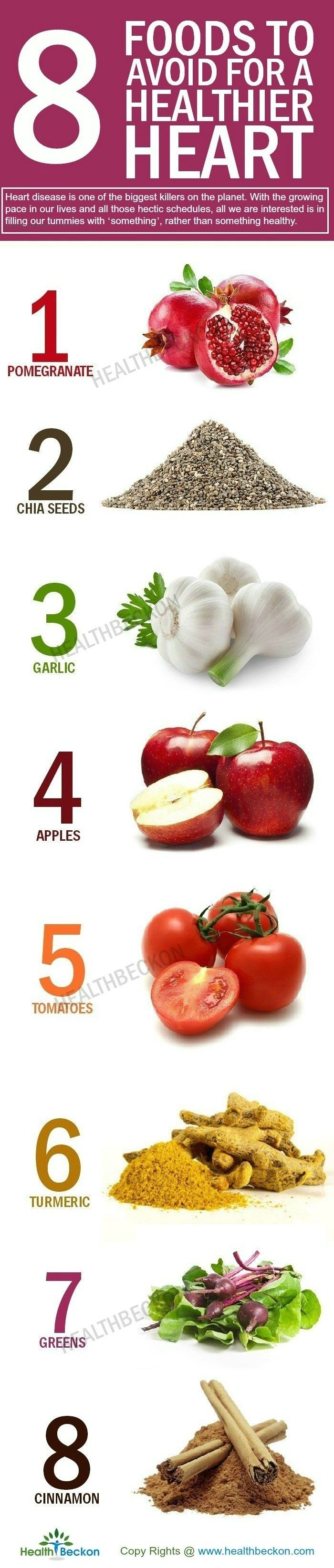 Millions Die Of Heart Disease Every Year Because They Don T Take These 8 Food Heart Healthy Diet Food Heart Healthy