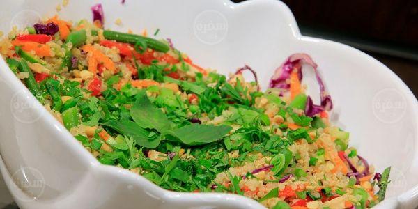 Cbc Sofra طريقة تحضير سلطة كينوا اميرة شنب Recipe Recipes Food Vegetables