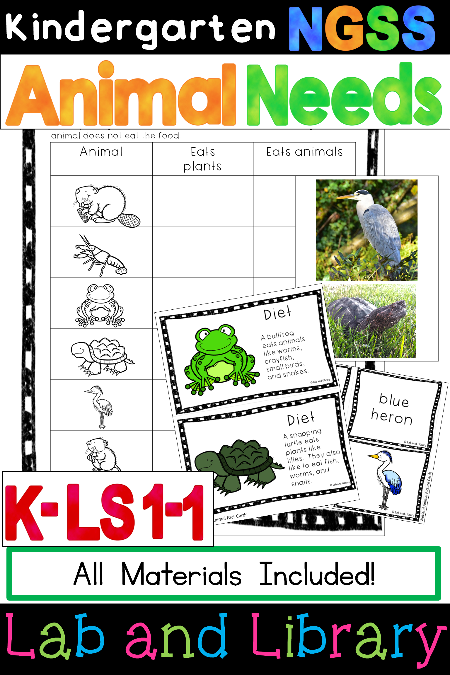 Kindergarten Ngss Animal Needs Kindergarten Life Science In This Engaging Unit On Animal Needs Students Beco Ngss Science Teaching Resources Ngss Kindergarten [ 2304 x 1536 Pixel ]