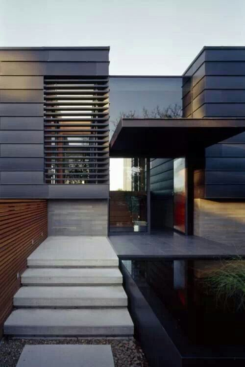 Contemporary porch and design