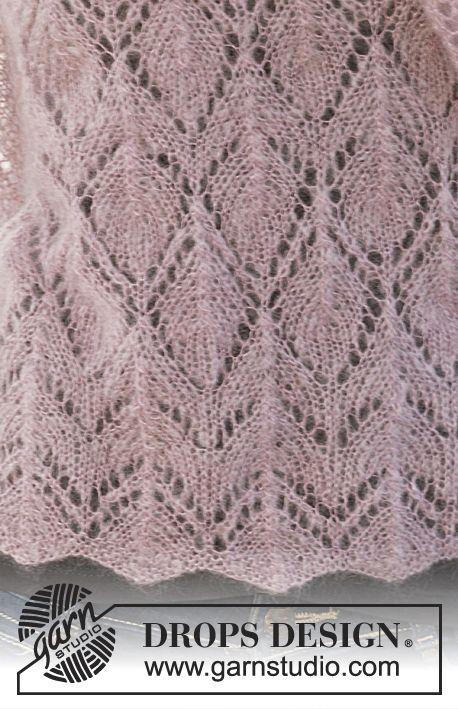 Sehr Luftiges Lace Muster Unbekannter Herkunft 1