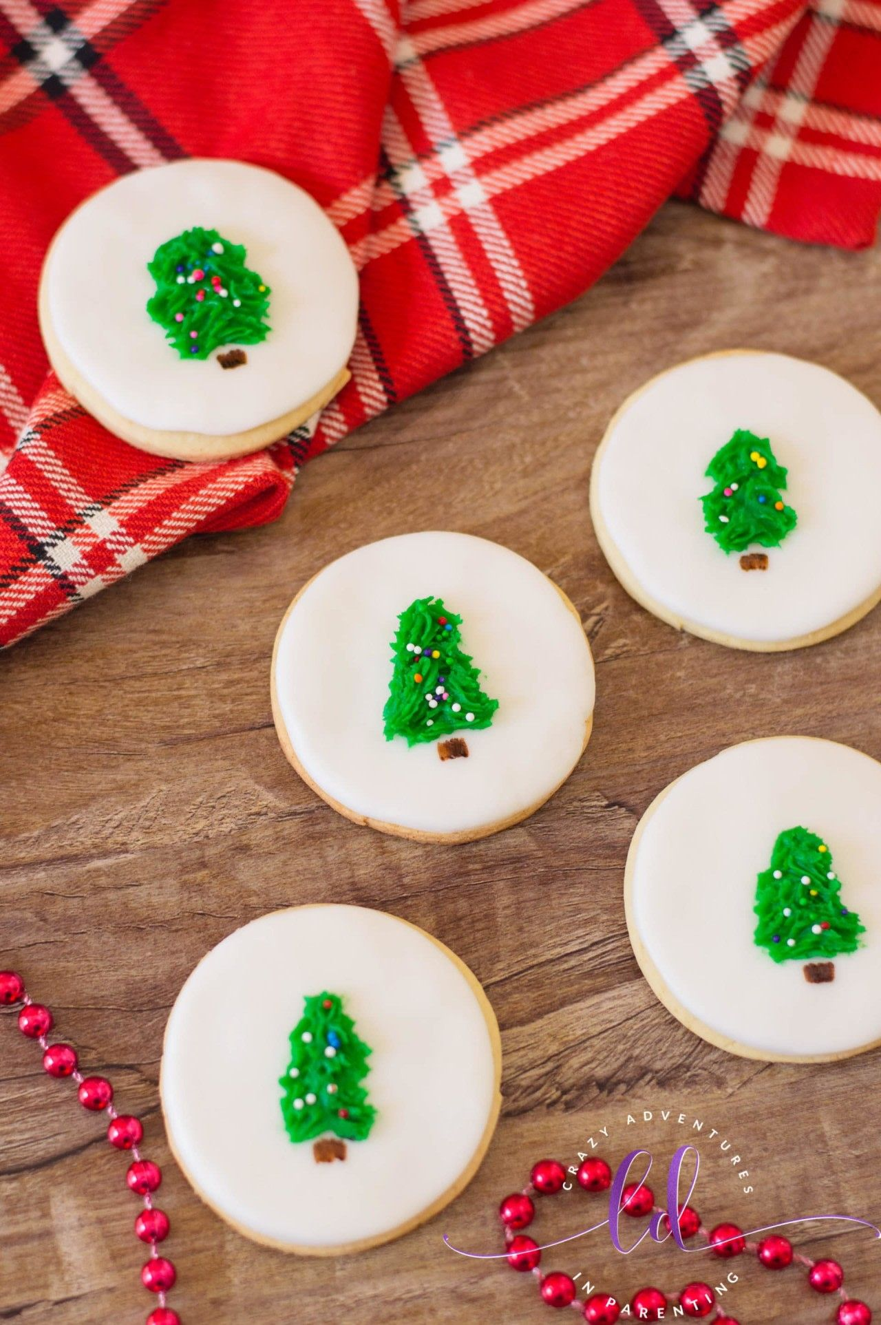 Easy Christmas Tree Cookies Recipe With Images Christmas Tree Cookie Recipes Christmas Tree Cookies Cute Christmas Cookies