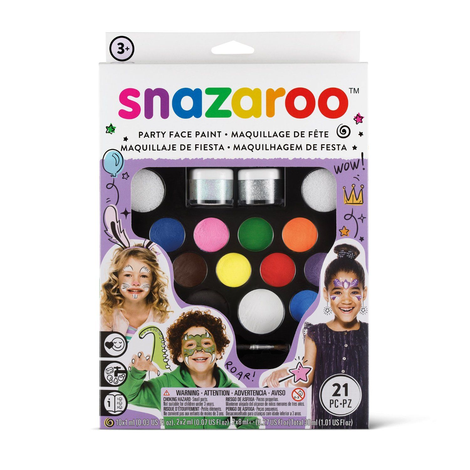 Snazaroo Face Paint Ultimate Party Pack Face
