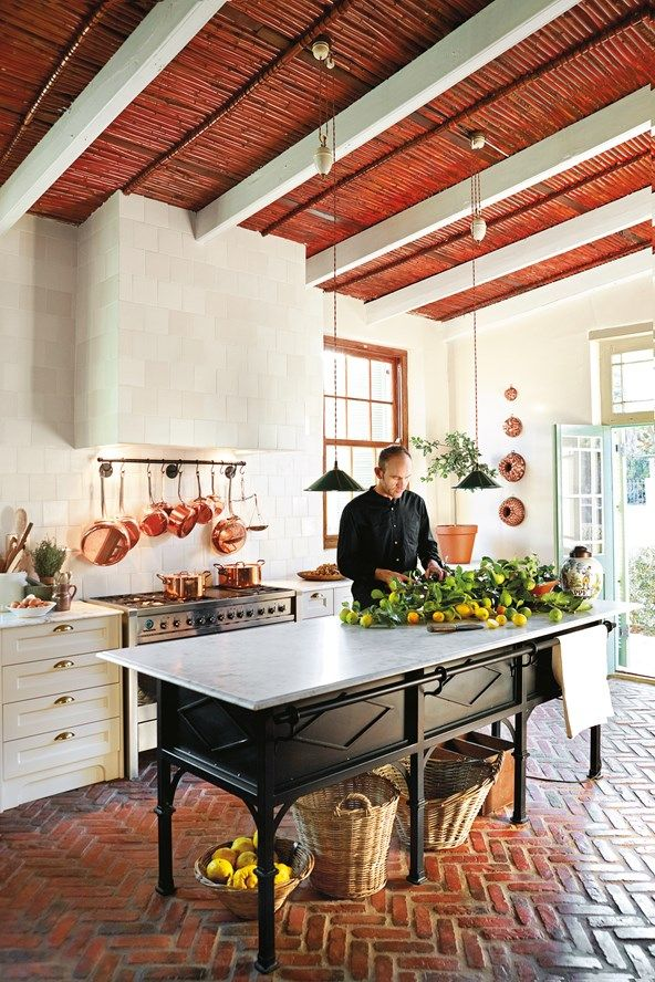 The Coolest Farmhouse To Rent In South Africa Brick Floor