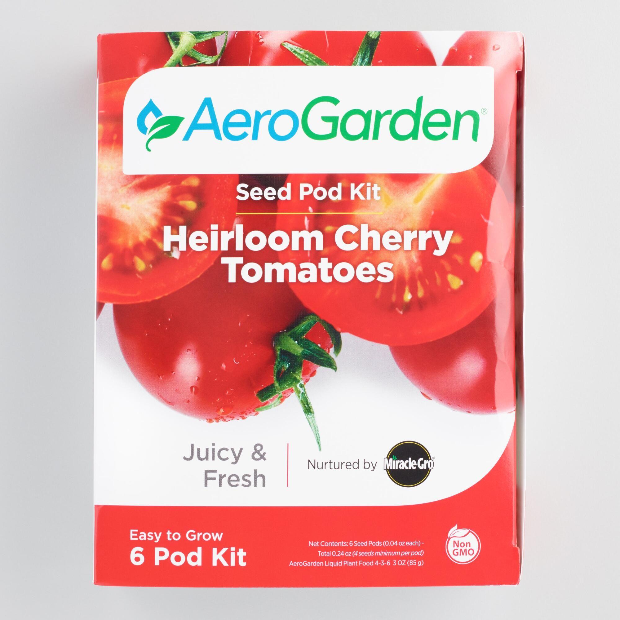 Miracle Gro Aerogarden Cherry Tomato Seedpod Refill Kit By 400 x 300