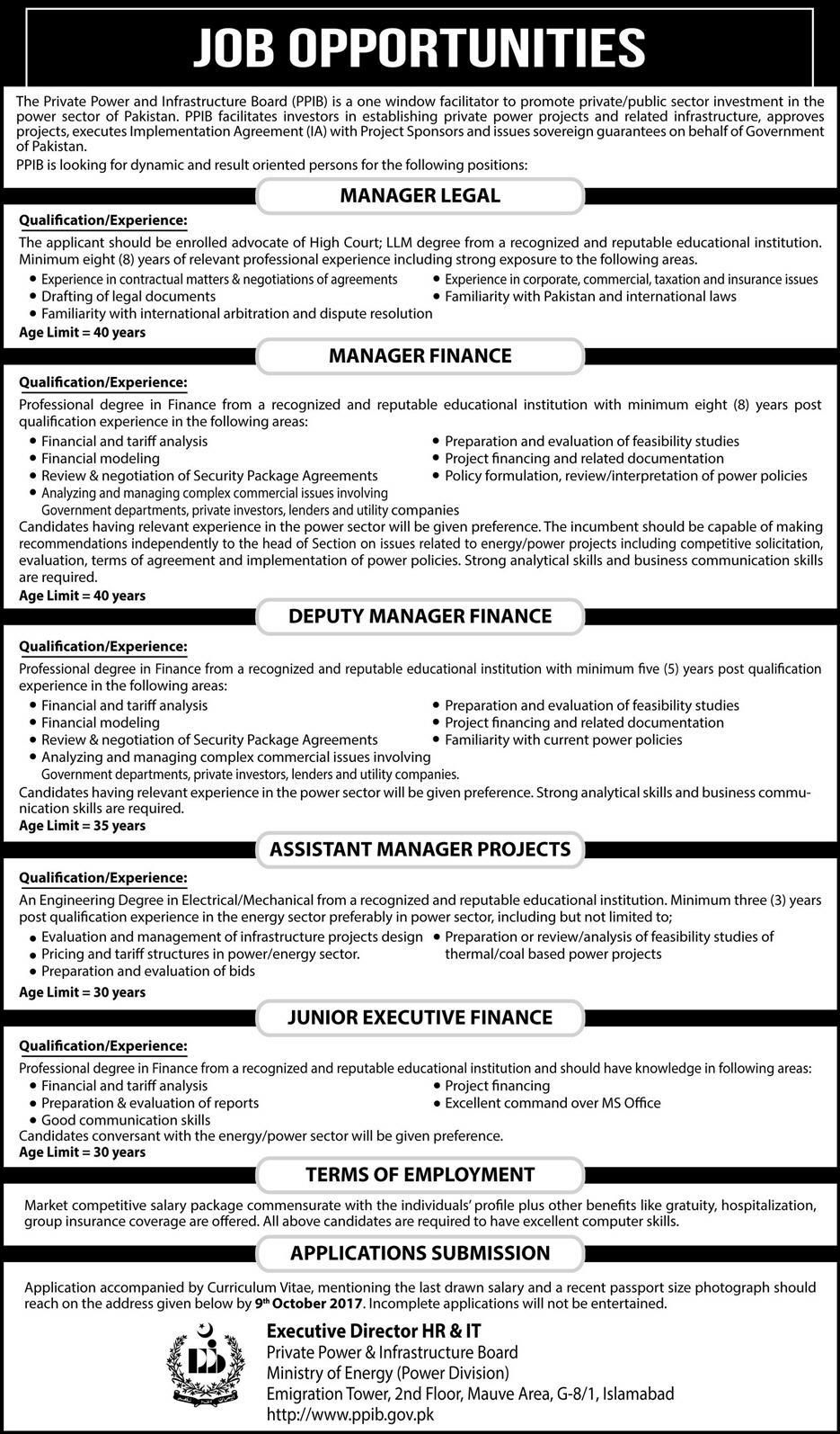 Ministry Of Planning Development And Reforms Islamabad Jobs  Jobs