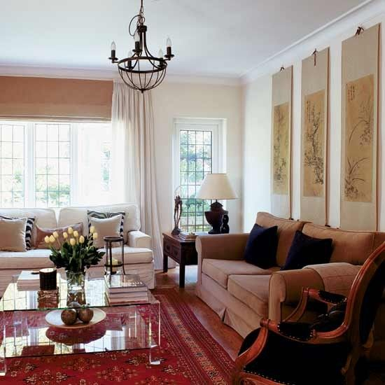 Take A Tour Around Classic 1930s Home French Living RoomsLiving Room