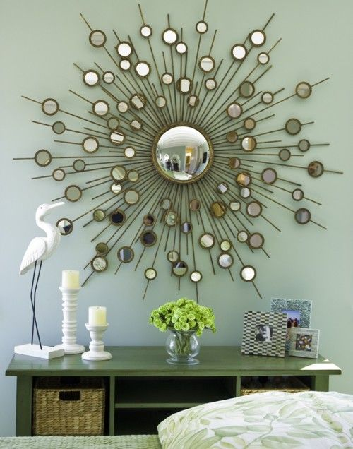Mirror Like This For Entry Decor Starburst Wall Art Hanging Wall Decor