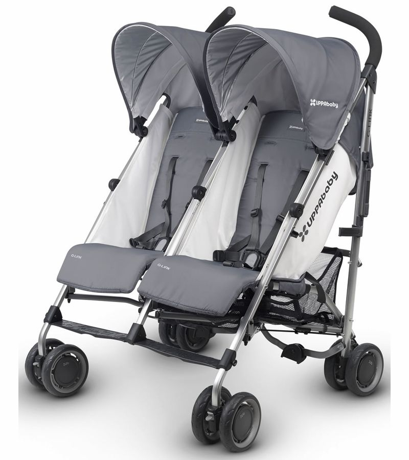 UPPAbaby GLink Double Stroller Pascal Perfect
