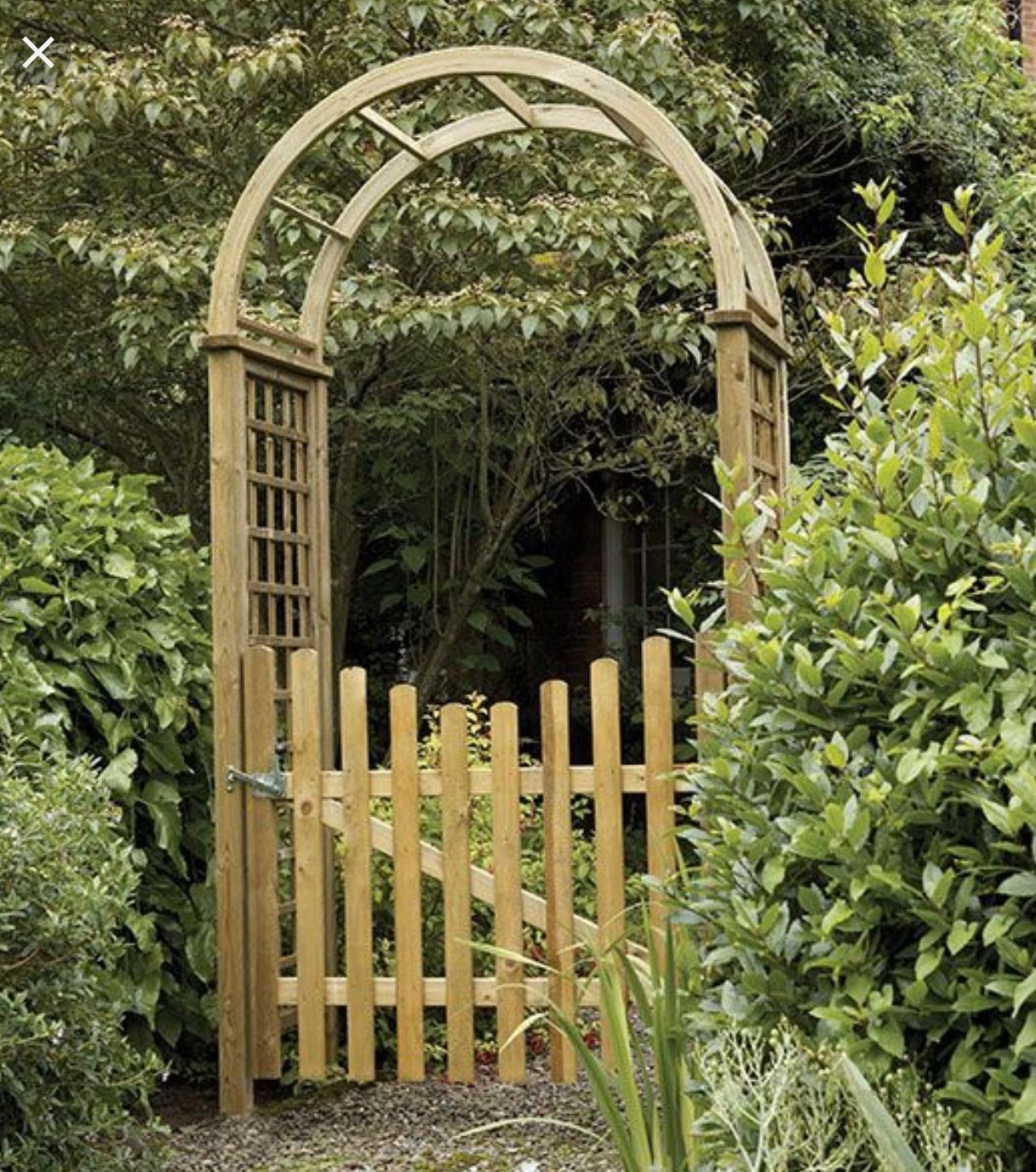 Pin By Abel Rodriguez On Back Garden Garden Arches Garden Archway Wooden Garden Gate