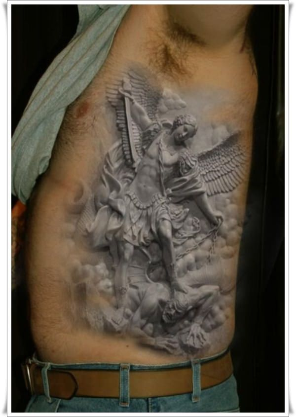 30 Perfect St Michael Tattoo Design Ideas | My Style ...