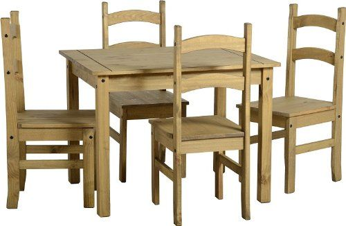 Mexican Carona Pine Furniture Dining Table