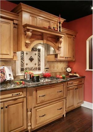 Traditional victorian colonial kitchen by rose marie for Traditional victorian kitchen designs