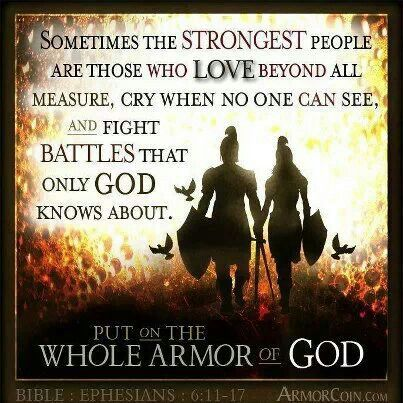 Did you put on your armor today?