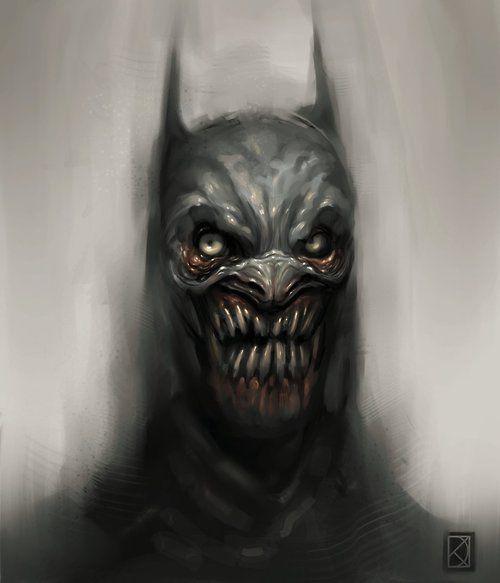 dark knight, nightmare, dark art, daniel karlsson ...