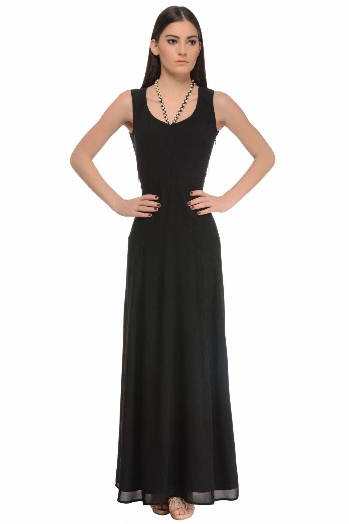 Black Pearl Maxi Dress−Women Online Basket Sale