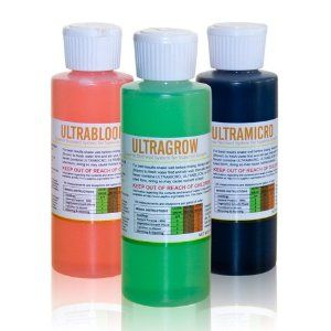 Ultragrow Liquid Nutrient Set 3 Part Aerogarden 400 x 300