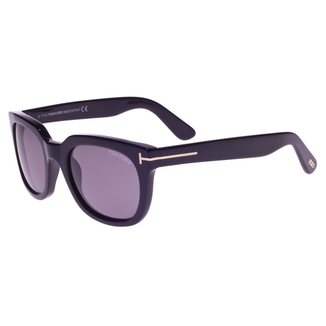 2d161d190bbe Tom Ford TF0198 01A Campbell Black Sunglasses