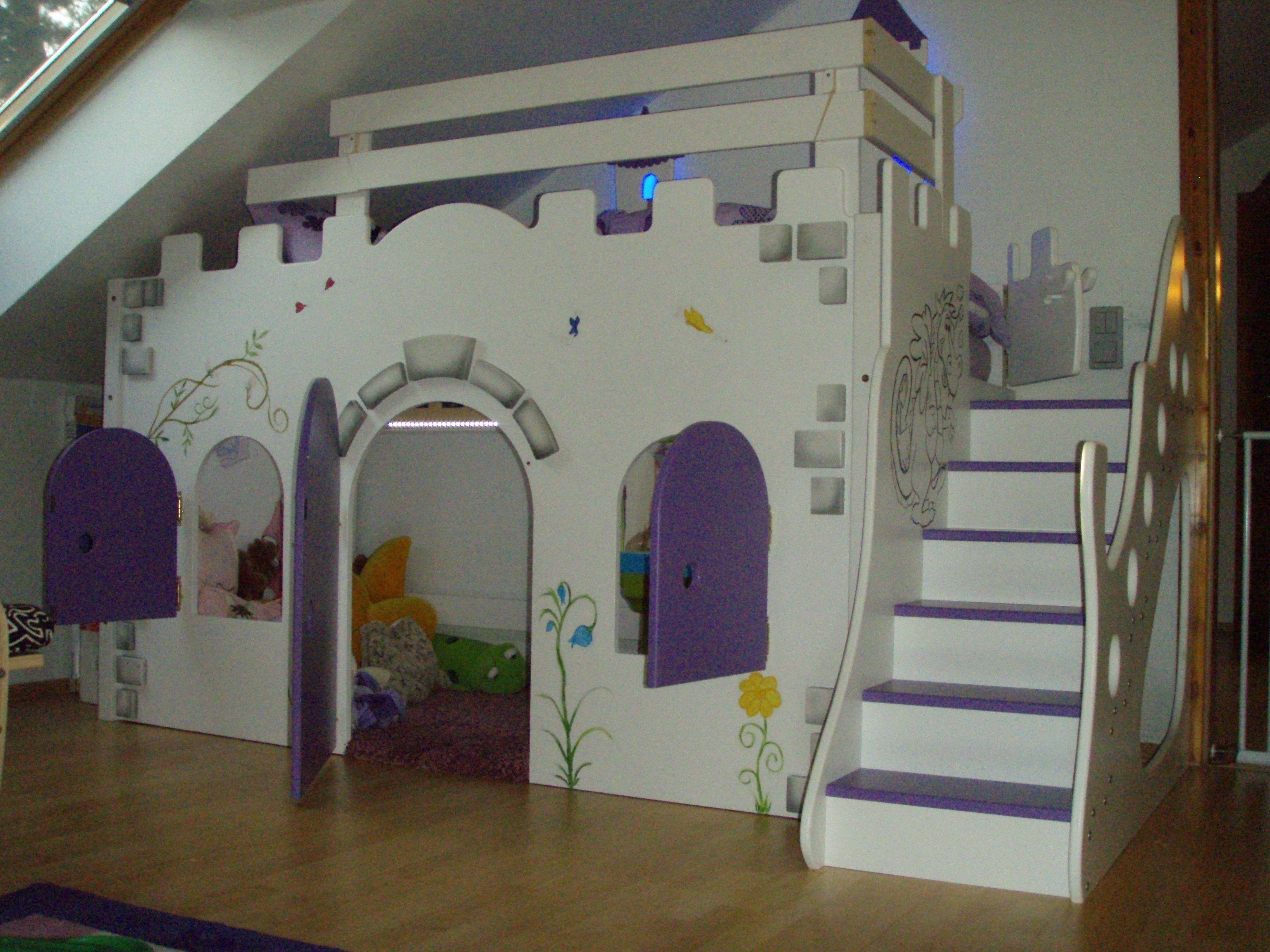 Hochbett Burg Cool Kinderbett Hochbett Traum Burg